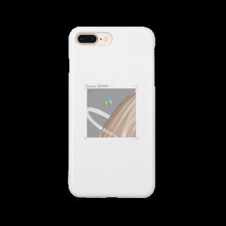 定食屋さんのうちゅうくんと宇宙人 Smartphone cases
