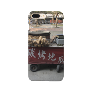 HKG パンダのほっかほかのお芋だよ Smartphone cases