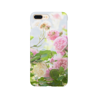 BLACKANDWHITEのRose Garden Smartphone cases