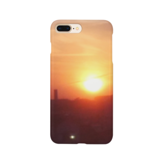 sax905の夕焼けグッズ Smartphone cases