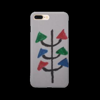 まるあるちの真面目の木 Smartphone cases