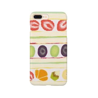 フルーツサンドのスマホケース Smartphone cases
