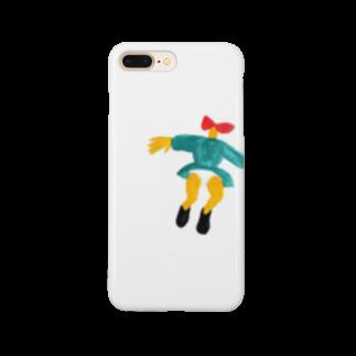 わやたにの女の子ひゅーん Smartphone cases