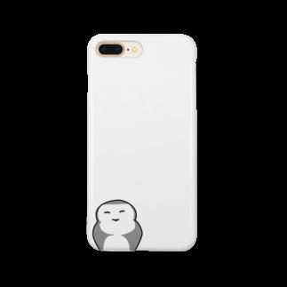 むる3のふくろうさん Smartphone cases
