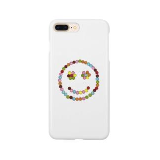 マーブルスマイル Smartphone cases