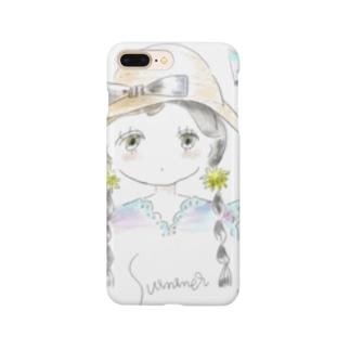 夏の女の子 Smartphone cases