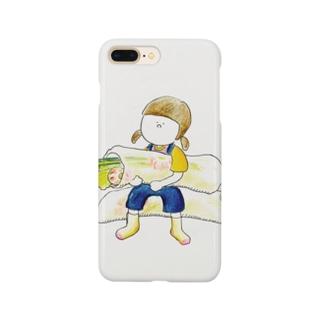 生春巻きおんなのこ Smartphone cases