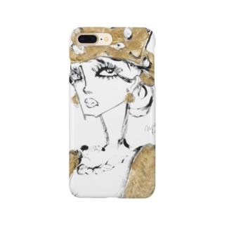 𝐌𝐢𝐤𝐚 𝐑𝐨𝐥𝐚𝐧𝐝 ~ 𝐩𝐥𝐚𝐧𝐞𝐭のMR 金色の夫人 Smartphone cases
