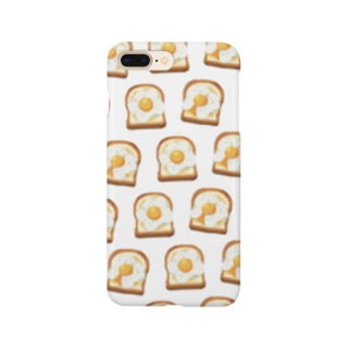 卵トースト[白] Smartphone Case