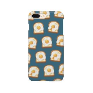 卵トースト[青] Smartphone Case