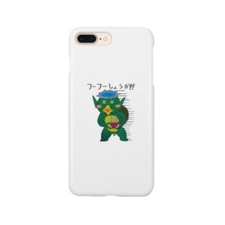 フーフーカッパ Smartphone cases