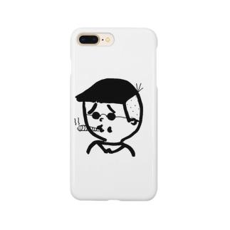 ダラ男 Smartphone cases
