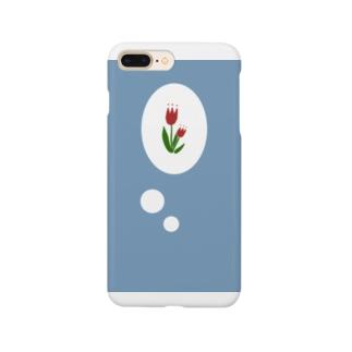 小窓チューリップ Smartphone cases