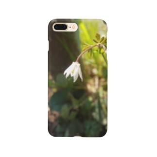 ニムニムのお部屋の野の花 Smartphone cases