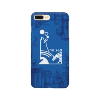 aniまる Fur sea / sp-case-c Smartphone cases