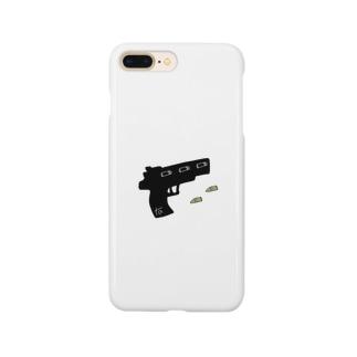 拳銃と銃弾 Smartphone cases