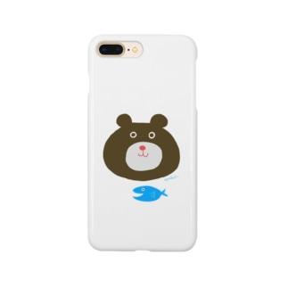 熊だベアー。 Smartphone cases