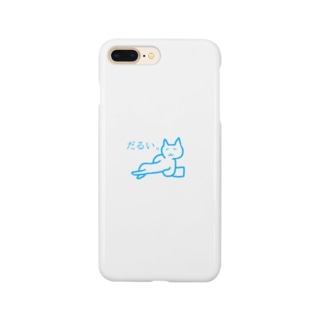 だるいねこ Smartphone cases
