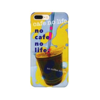 no cafe no life. 2 Smartphone cases
