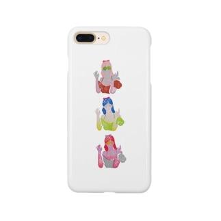bikkuri girls Smartphone Case