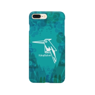 aniまる Kingfisher / sp-case-c Smartphone cases