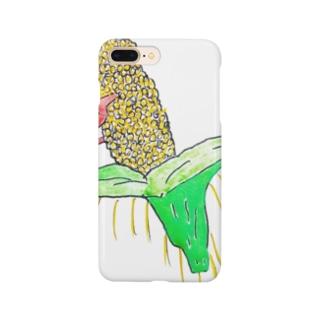 ビックリとうきび Smartphone cases