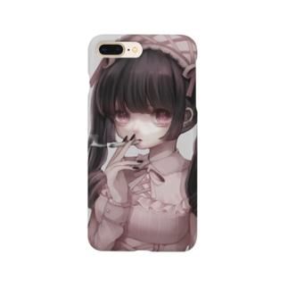 喫煙ロリータ Smartphone cases