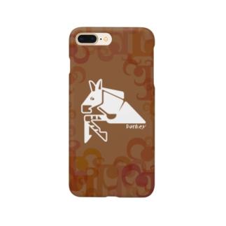 aniまる Donkey / sp-case-c Smartphone cases