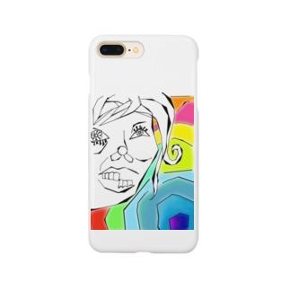 変顔(美化) Smartphone cases