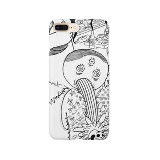 塗り絵シリーズ004 Smartphone cases