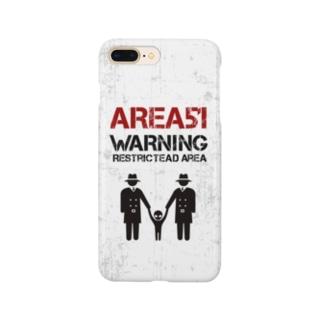 エリア51 Smartphone cases
