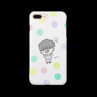chii_153のmi-mi boy Smartphone cases