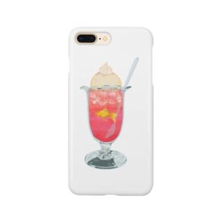 内緒のクリームソーダ Smartphone cases