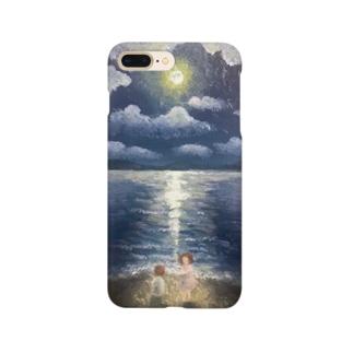 月の夜 Smartphone cases