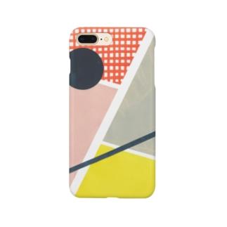 円と線分 Smartphone Case