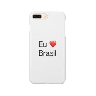 Eu amo o Brasil Smartphone cases