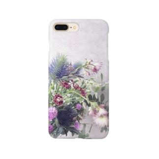 【花束】iPhoneケース Smartphone cases