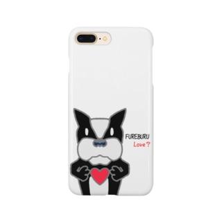 ふれんちぶるどっく LOVE? Smartphone cases