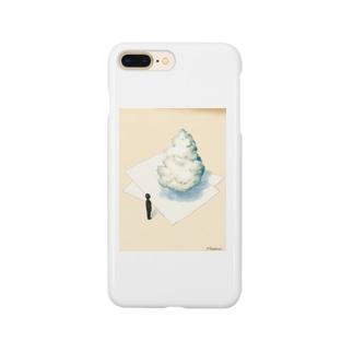 上の空。『積乱雲2』 Smartphone cases