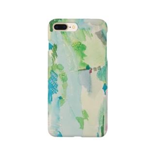 ハタケ tate Smartphone cases