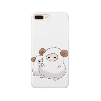ひつじ Smartphone cases