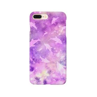 宇宙イルカ Smartphone cases