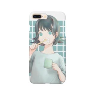 歯磨き Smartphone cases