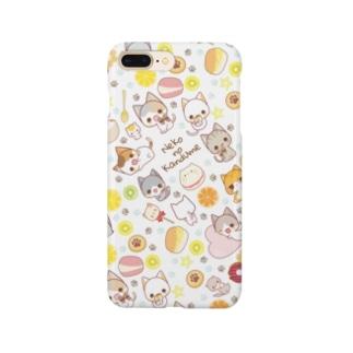 にゃんことフルーツとスイーツ Smartphone cases
