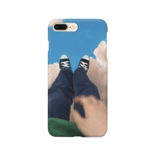 雲の上で Smartphone cases