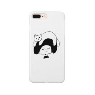 relaxにゃんこ Smartphone cases