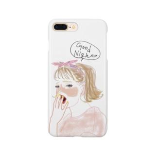 siestaのあくびちゃん@Takako Smartphone cases