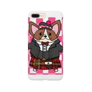 キルトコーギー Smartphone cases