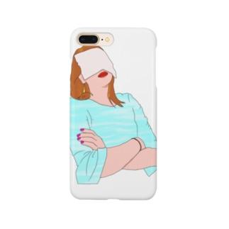 酔っぱらったミスティ。 Smartphone cases