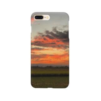 夕焼けこやけ Smartphone cases